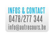 Info & Contact - 0478/277 344 - info@autrecours.be